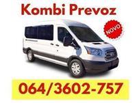 Najjeftiniji kombi prevoz - 064 360 2757 - Pazova