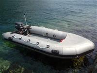 Gumenjak 3.85m sivi sa TOHATSU 15 KS motorom