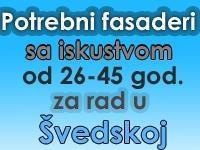 Potrebni profesionalni fasaderi u Švedskoj