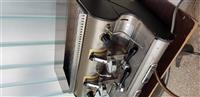 Kaffe aparat i mlin