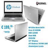 HP EliteBook core i5 3437u, 8GB ram, SSD 256GB...