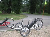 Lezeci tricikli - recumbent trike