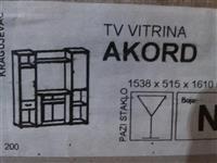 TV VITRINA AKORD