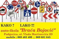 Auto škola Braca Bojović Podgorici