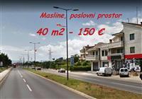 Poslovni prostor na bulevaru za 150 €, Masline
