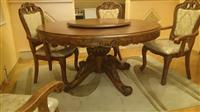 Drveni nekorisceni okrugli sto