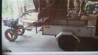 Motokultivator 506 SX sa prikolicom