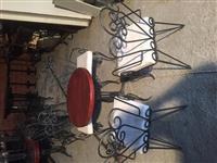 Stolice od kovanog gvozdja