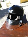 Kaciga AGV black metal