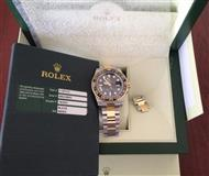 ROLEX 18K/SS GMT MASTER II CERAMIC 116713