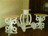 Izrada dekorativne stolove