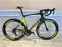 2017 Scott Foil RC Black Yellow Size 56cm Zipp 404
