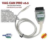 VAG CAN PRO 5.5 dijagnostika+immo+flash+spec.funkc