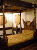 Spavaca soba sa baldahinom
