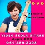 DVD VIDEO KURS I SKOLA GITARE, BUBNJEVA
