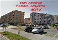 Lijepo namješten dvosoban za 400 €, St.Aerodrom