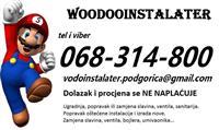 VODOINSTALATER Podgorica