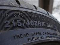 215 - 40 ZR 16