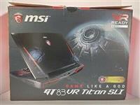 MSI GT83VR Titan SLI Gaming Laptop