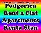 Smjestaj u Podgorici, izdavanje apartmana