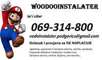 VODOINSTALATER Podgorica 069 314 800