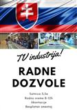 Slovacka. TV industrija. 3,5e sat.