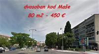 Lijep dvosoban namješten za 450 €, kod Maše