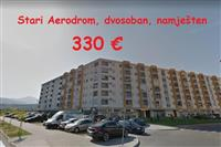Namješten dvosoban za 330 €, Stari Aerodrom