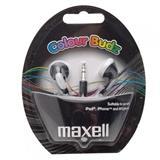 SLUSALICE MAXELL EAR BUD CRNE