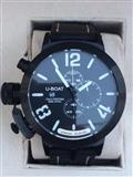 Sat U-BOAT CLASSICO 48 STERLING SILVER 925 BLACK