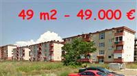 Jednosoban stan 49 m2 ul.27.marta, Zabjelo
