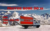 Prevoz robe do 2 tone